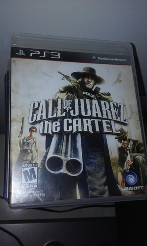call of juarez the cartel juego ps3 fisico original