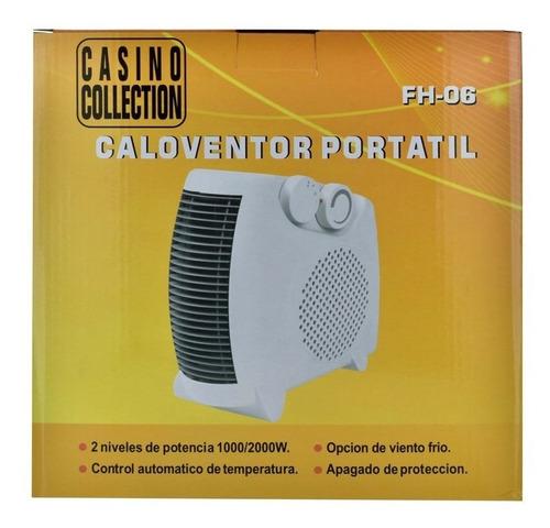 caloventilador portatil 1000/2000w fh-06 - el clon
