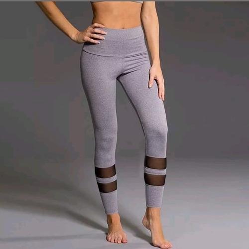 calza gris gym, zumba, aerobic, fitness, etc