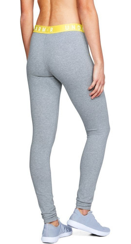 calza under armour favorite legging steel - yalocompro