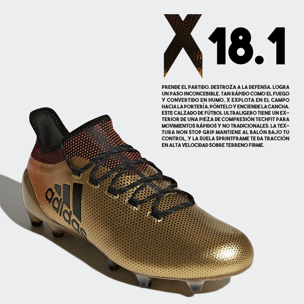 aba539858f889 champión calzado adidas x 17.1 de fútbol cancha 11. Cargando zoom... calzado  adidas fútbol. Cargando zoom.