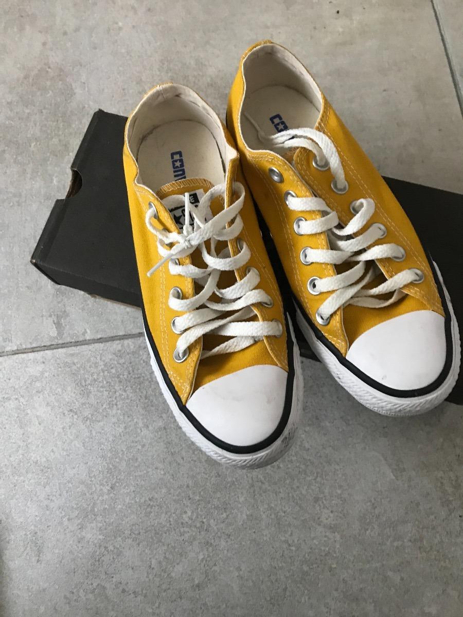 c313b0ab9 calzado converse all star - amarillos talle  37 (eur). Cargando zoom.