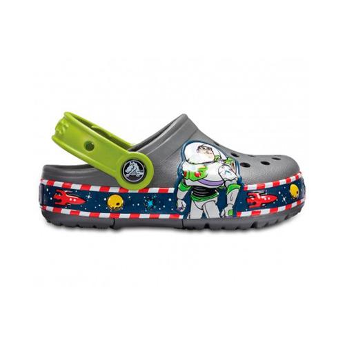calzado crocs buzz lights slate grey - crocs uruguay