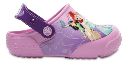 calzado crocs fun lab princess amethyst - crocs uruguay