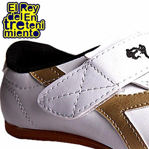 calzado deportivo arte marcial taekwondo zapatillas - el rey