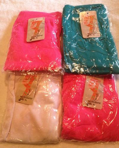 calzas para niñas de 2 a 12 años