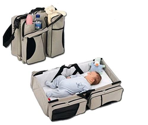 cama bebe transportable bolso maternal