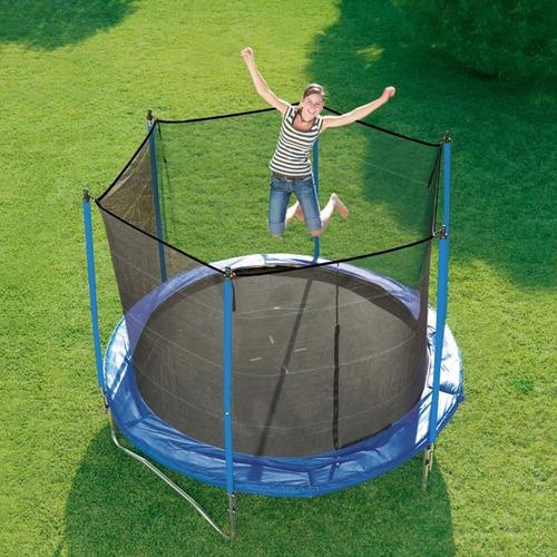 cama elastica con proteccion 183cm 6ft red seguridad premium