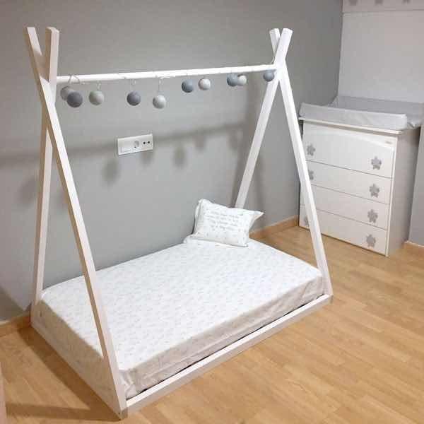 Cama montessori tipi carpita econ mica en - Medidas camas infantiles ...