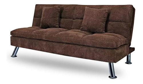 cama muebles living sofá