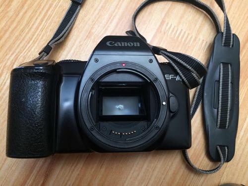 cámara canon 35mm + lente 50 mm 1.8