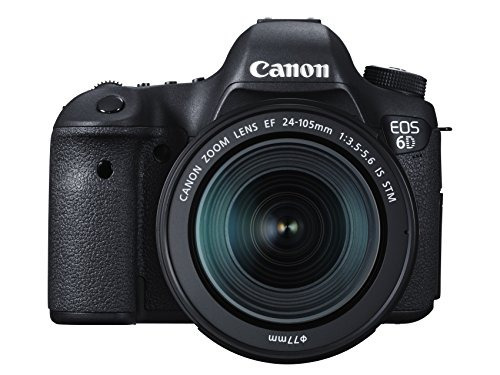 camara canon eos 6d 20.2 mp cmos digital slr camera with