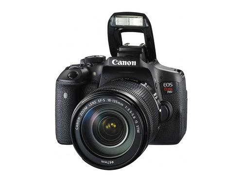 camara canon eos rebel t6i digital slr with ef-s 18-135mm