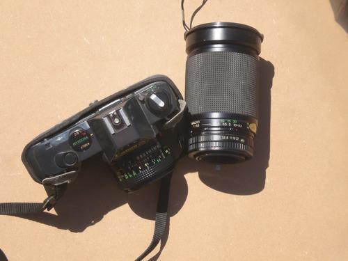 camara canon reflex t50 con ascesorios