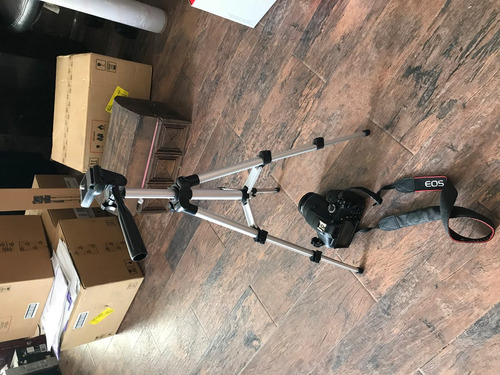 camara canon reflex t6 wifi lente18-55 funda tripié 16g sdhc
