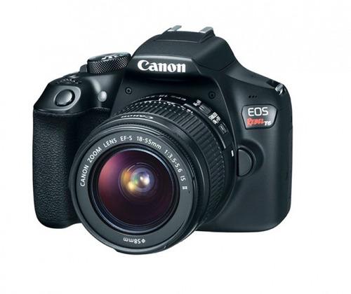 camara canon t6 18-55mm reflex profesional ma