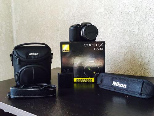 camara coolpix p600
