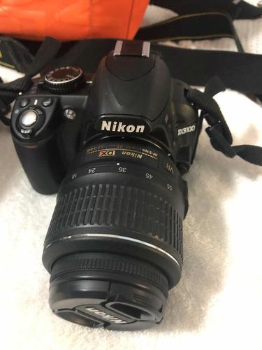 camara de foto nikon 3100 con dos lentes