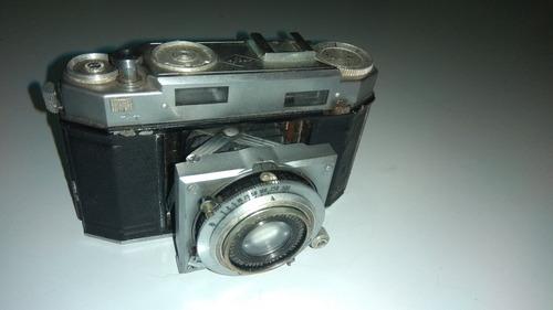 cámara de fotos antigua agfa compur rapid