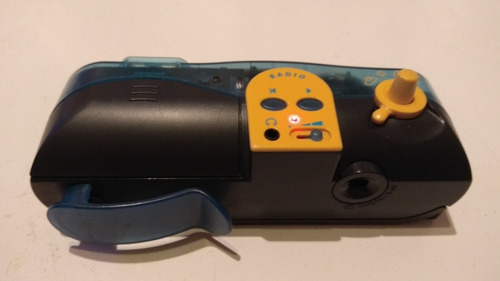 cámara de fotos con radio polaroid i-zone instantánea