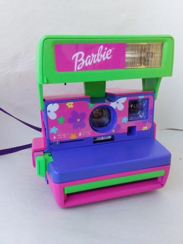 cámara de fotos polaroid barbie