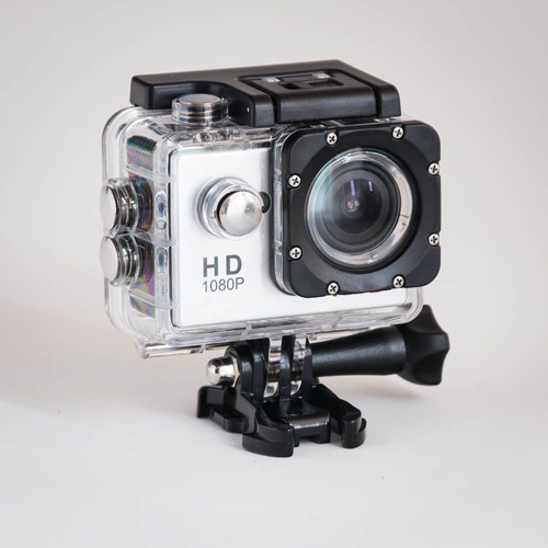 camara de fotos tipo go pro video para deportes waterproof