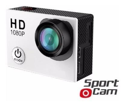 cámara deportiva hd wifi sumergible c/accesorios tipo gopro