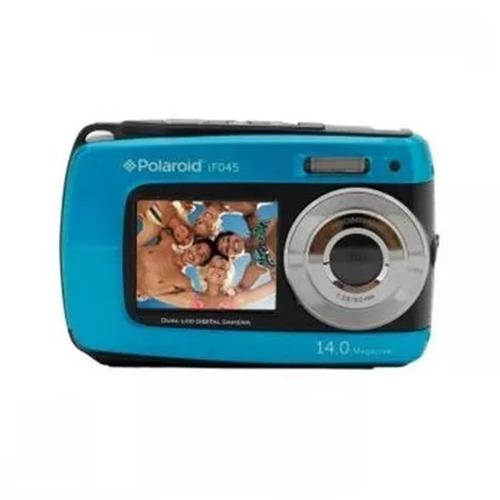 cámara digital sumergible polaroid if045 14 mp geo