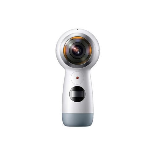 cámara esférica 4k gear globe 360 blanca original samsung