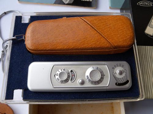 camara espia minox b alemana 8x11mm original sin uso 1962 ex