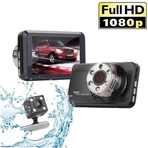 camara filmadora auto doble delantera y trasera caja negra