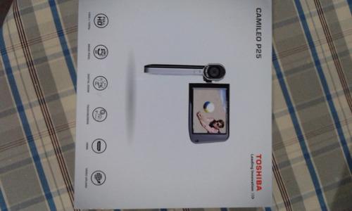 cámara foto/filmadora toshiba camileo p25
