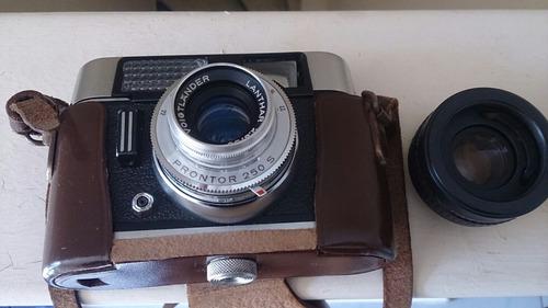 cámara fotográfica antigua voigtlander alemana