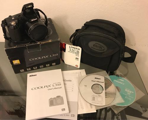 cámara fotográfica digital nikon l 310