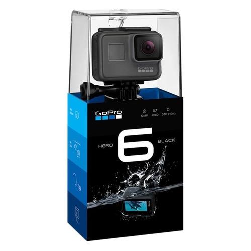 camara go pro hero 6 black 4k lo mejor del mercado - nuevo!
