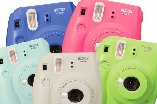 camara instantanea fujifilm instax mini 9 tipo polaroid