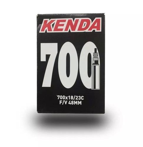 cámara kenda rod.700x18/23c válvula fina larga 48mm