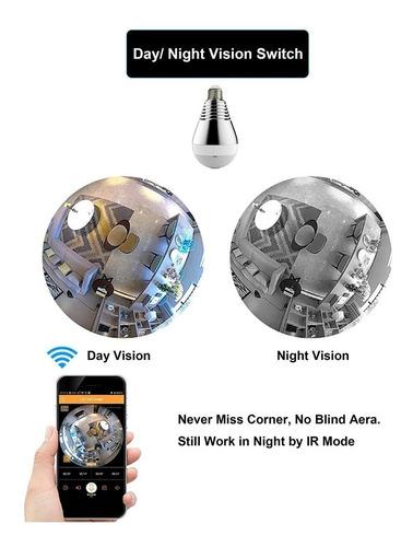 cámara lampara led 360° visión oculta! envío gratis!!!