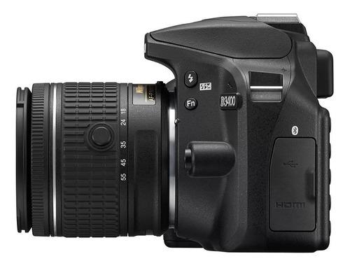 camara nikon d3500 c/bluetooth+lente 18-55 entrega inmediata
