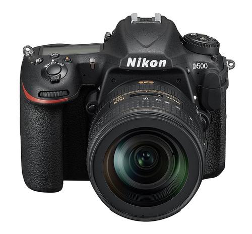 camara nikon d500 dx-format digital slr with 16-80mm ed vr