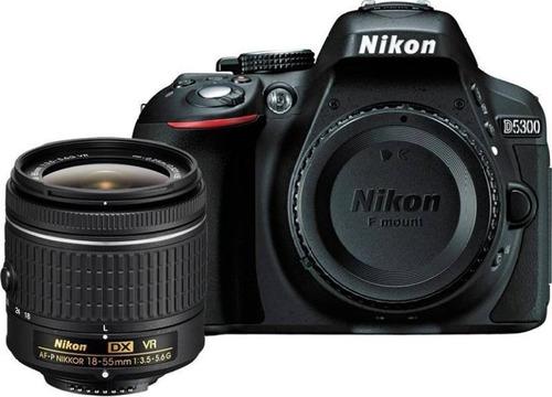 camara nikon d5300 18-55mm 24 mp reflex | upgrade