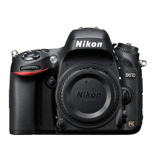 camara nikon d610 reflex profesional 24.3mp cuerpo sin lente