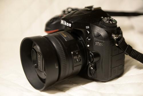 camara nikon d7200 wifi c/ nikon 35 1.8 foto directa al celu