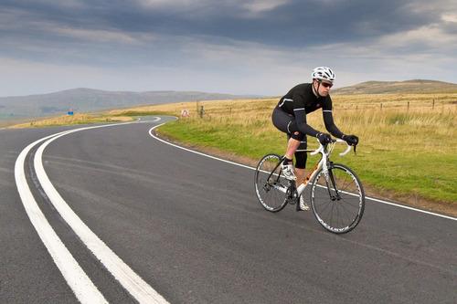 cámara pa llanta bici ruta 700x23 michelin válvula francesa!