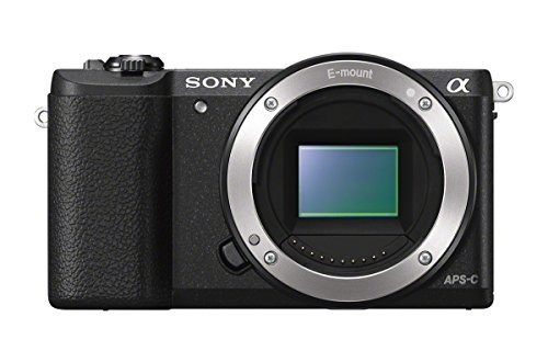 camara sony a5100 mirrorless digital camera with 3-inch
