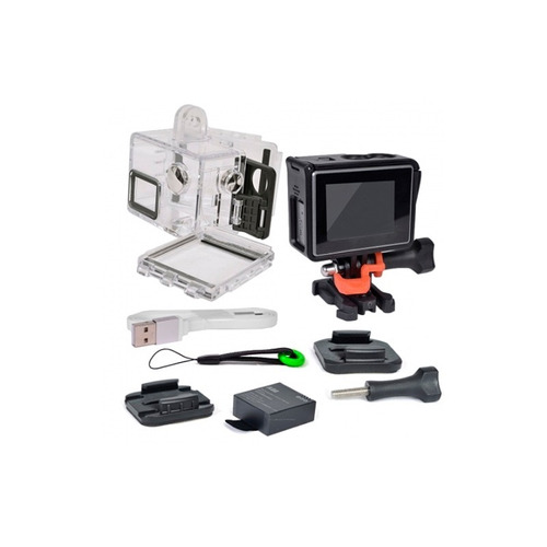 cámara sports tipo go pro 4k ultra hd - netpc