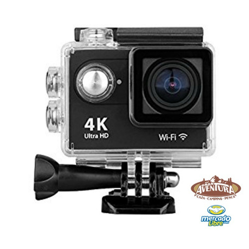 camara ultra hd tipo go pro 4k wifi authentic h9