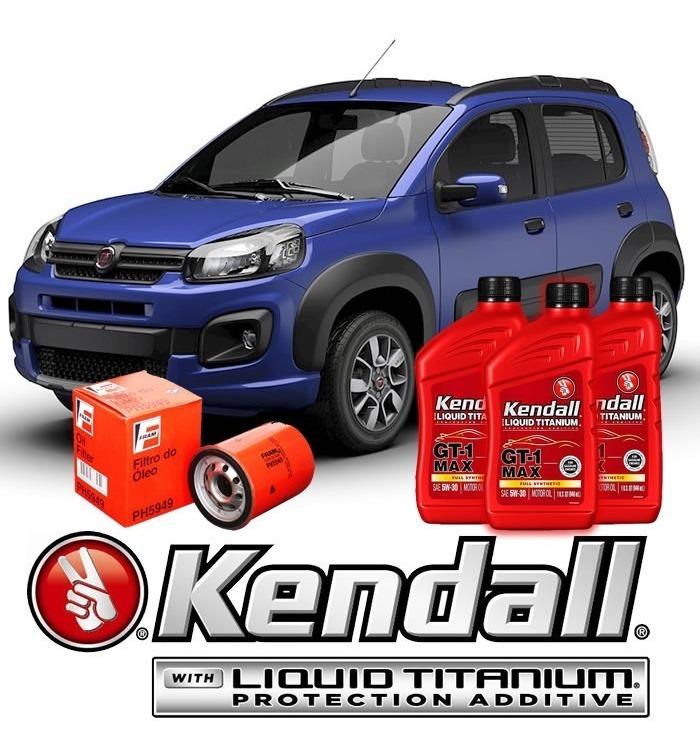 Cambio Aceite Fiat Uno Way Aceite Sint U00e9tico Kendall Gratis