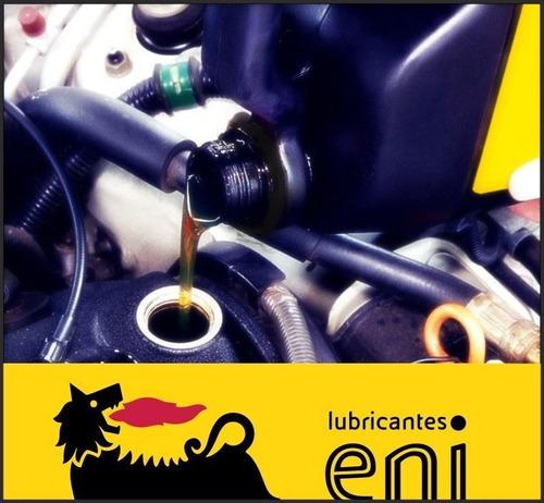 cambio de aceite y filtro - eni 15w 40