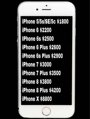 cambio de pantalla iphone 6